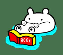 Kaba Hippo Boy sticker #3968596