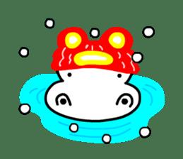 Kaba Hippo Boy sticker #3968599