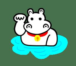 Kaba Hippo Boy sticker #3968603