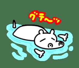 Kaba Hippo Boy sticker #3968605