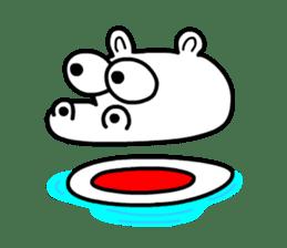 Kaba Hippo Boy sticker #3968606
