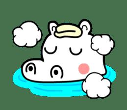 Kaba Hippo Boy sticker #3968610