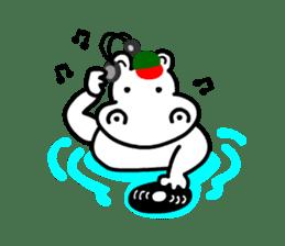Kaba Hippo Boy sticker #3968611