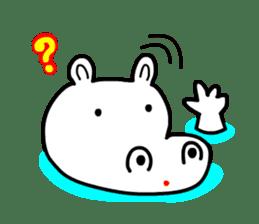 Kaba Hippo Boy sticker #3968612