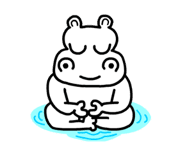 Kaba Hippo Boy sticker #3968617