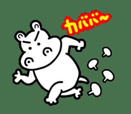Kaba Hippo Boy sticker #3968620