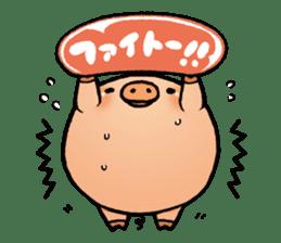 Gunma prefecture Maebashi city Coroton sticker #3970494