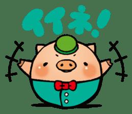 Gunma prefecture Maebashi city Coroton sticker #3970495