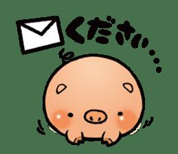 Gunma prefecture Maebashi city Coroton sticker #3970498