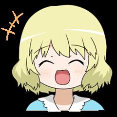 Blonde girl Kotoha