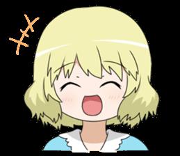 Blonde girl Kotoha sticker #3972863
