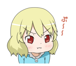 Blonde girl Kotoha sticker #3972864