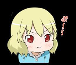 Blonde girl Kotoha sticker #3972864