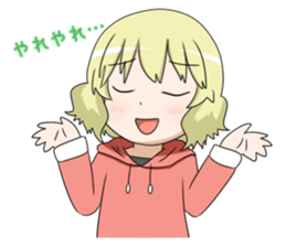 Blonde girl Kotoha sticker #3972867