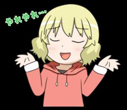 Blonde girl Kotoha sticker #3972867