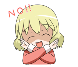 Blonde girl Kotoha sticker #3972869