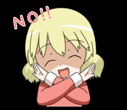 Blonde girl Kotoha sticker #3972869