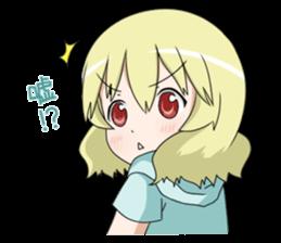 Blonde girl Kotoha sticker #3972872