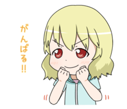 Blonde girl Kotoha sticker #3972874