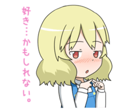 Blonde girl Kotoha sticker #3972876