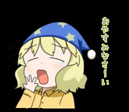 Blonde girl Kotoha sticker #3972880