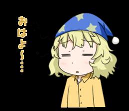 Blonde girl Kotoha sticker #3972881