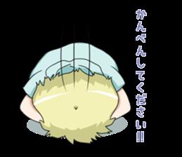 Blonde girl Kotoha sticker #3972889