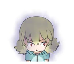 Blonde girl Kotoha sticker #3972890