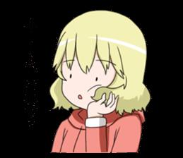 Blonde girl Kotoha sticker #3972892