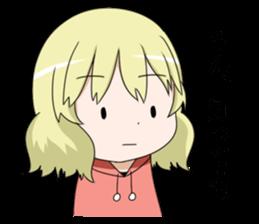 Blonde girl Kotoha sticker #3972893