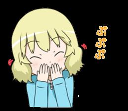 Blonde girl Kotoha sticker #3972896