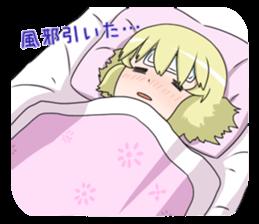 Blonde girl Kotoha sticker #3972899
