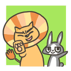 Lion&Bunny