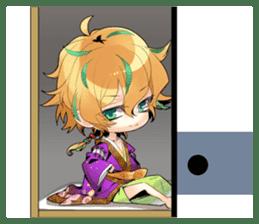 The Men of yoshiwara (English language) sticker #3984045