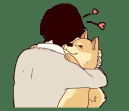 Warm fuzzy series (high school boys) sticker #3990846