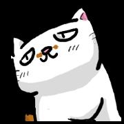 สติ๊กเกอร์ไลน์ worried look cat JACK