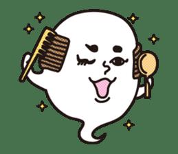 Bald Ghost sticker #4008072