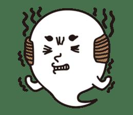 Bald Ghost sticker #4008076