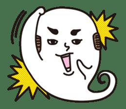 Bald Ghost sticker #4008078