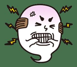 Bald Ghost sticker #4008082