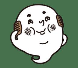 Bald Ghost sticker #4008088