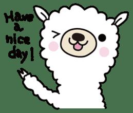 Three alpacas sticker sticker #4009711