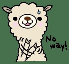 Three alpacas sticker sticker #4009714