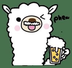 Three alpacas sticker sticker #4009719