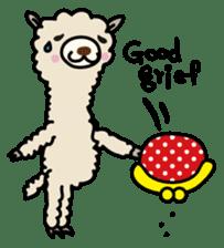 Three alpacas sticker sticker #4009722