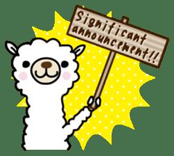 Three alpacas sticker sticker #4009723