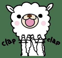 Three alpacas sticker sticker #4009725