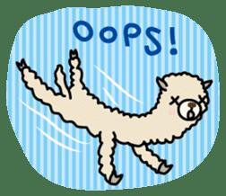 Three alpacas sticker sticker #4009728