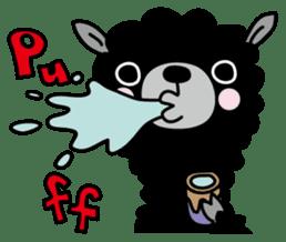 Three alpacas sticker sticker #4009729