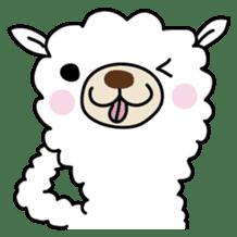 Three alpacas sticker sticker #4009730
